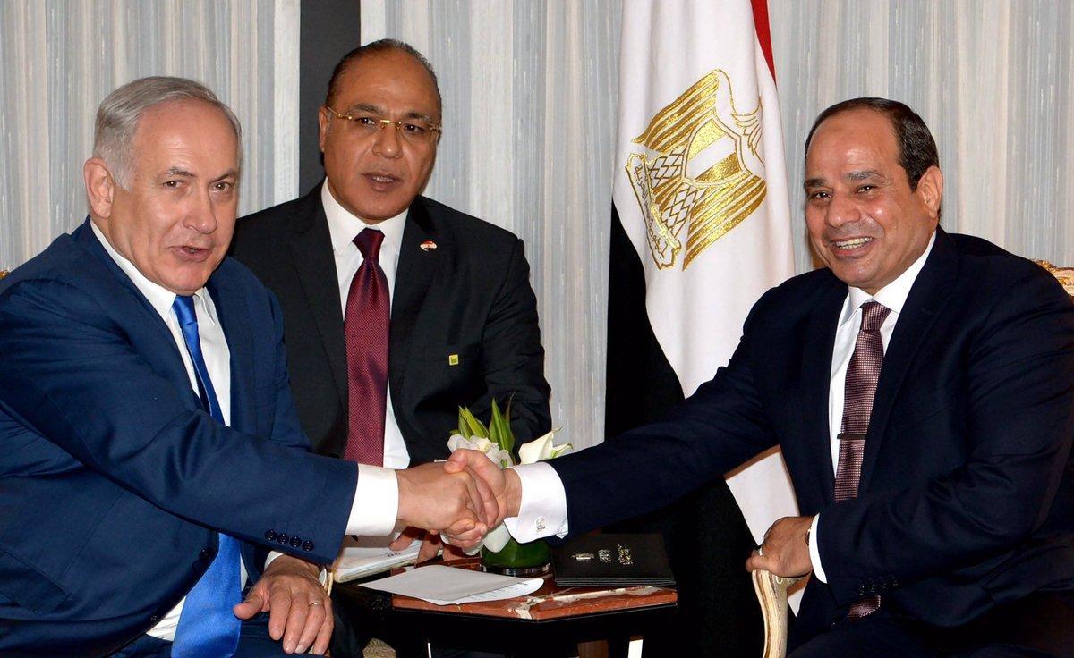 نتنياهو يفضح السيسي ويكشف عن لقائه 6 مرات سراً منذ أن كان رئيساً للمخابرات الحربية المصرية