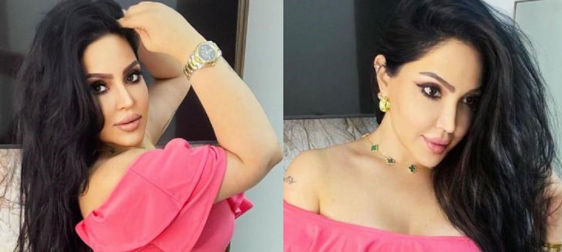الإعلامية الكويتية فاطمة العبدالله كادت تكشف ملابسها الداخلية في جلسة تصوير جريئة!