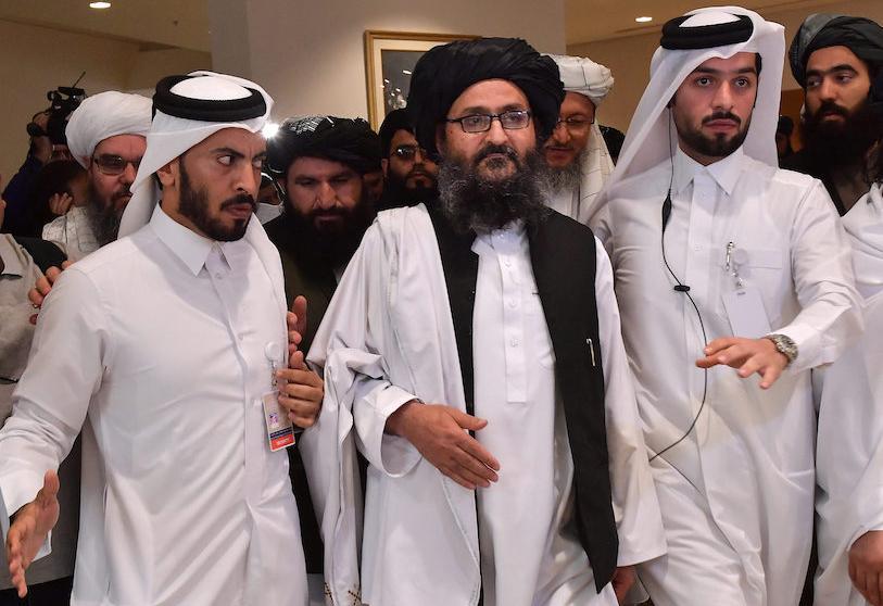 قيادات طالبان في قطر