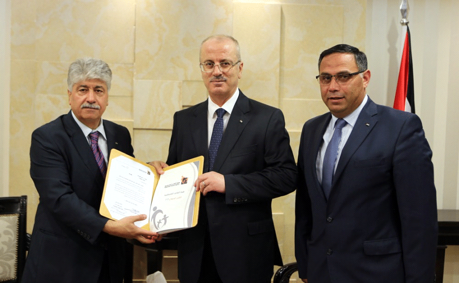 ماجد الحلو رئيس هيئة التقاعد الفلسطينية