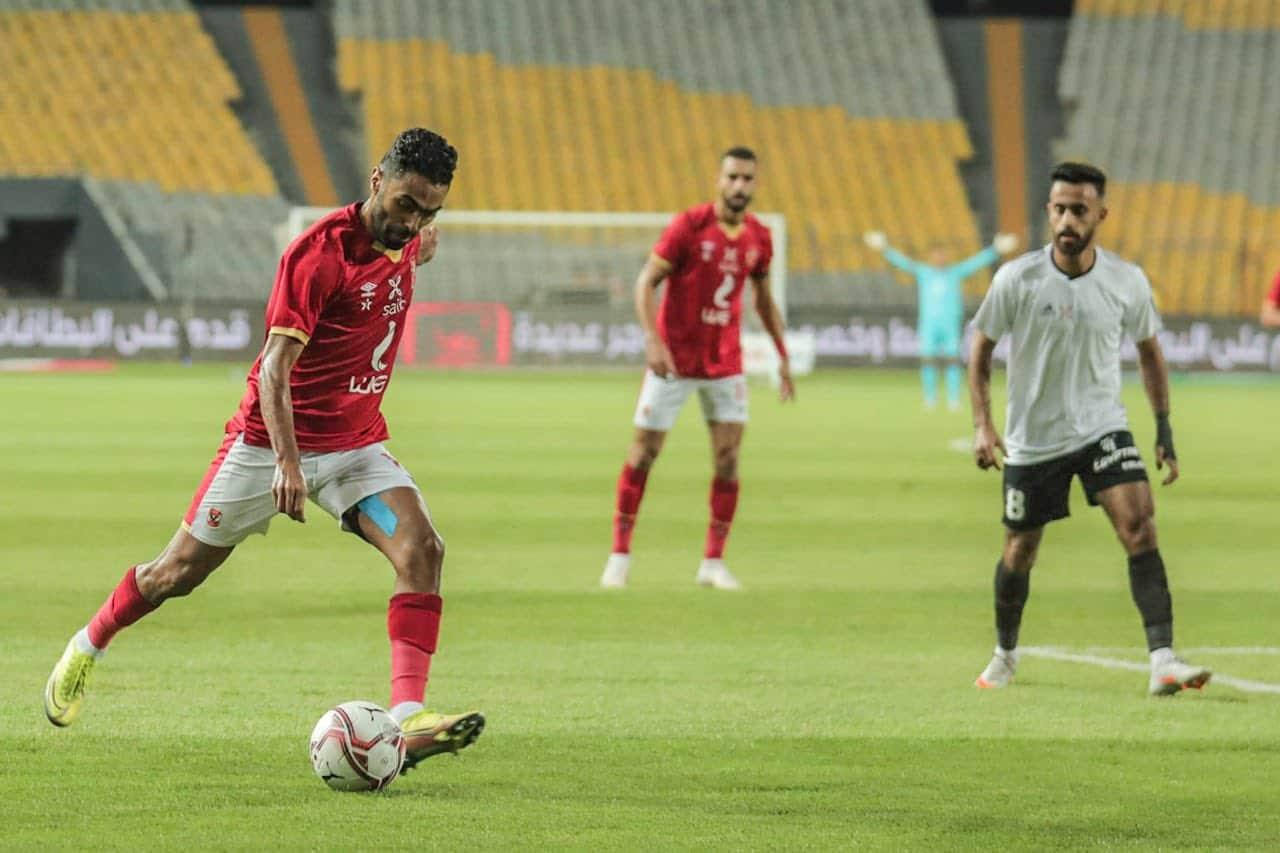 مباراة الأهلي وطلائع الجيش على لقب السوبر المصري