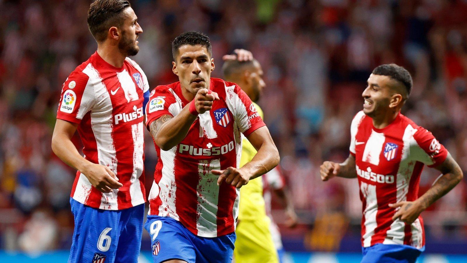 ترتيب الدوري الإسباني بعد تصدر أتلتيكو مدريد بثنائي سواريز
