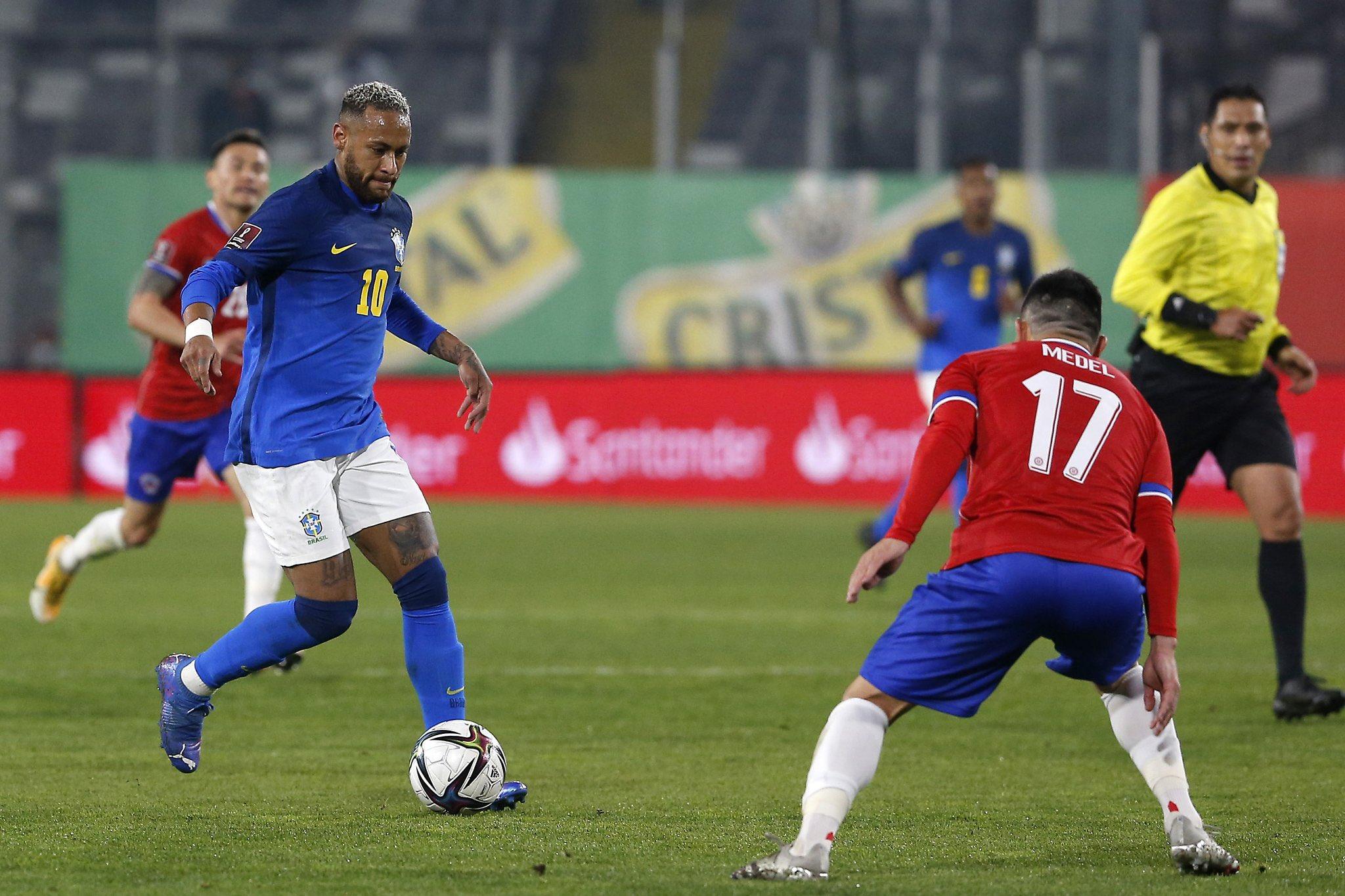 منتخب البرازيل يفوز بصعوبة على تشيلي في تصفيات مونديال قطر 2022 (شاهد)