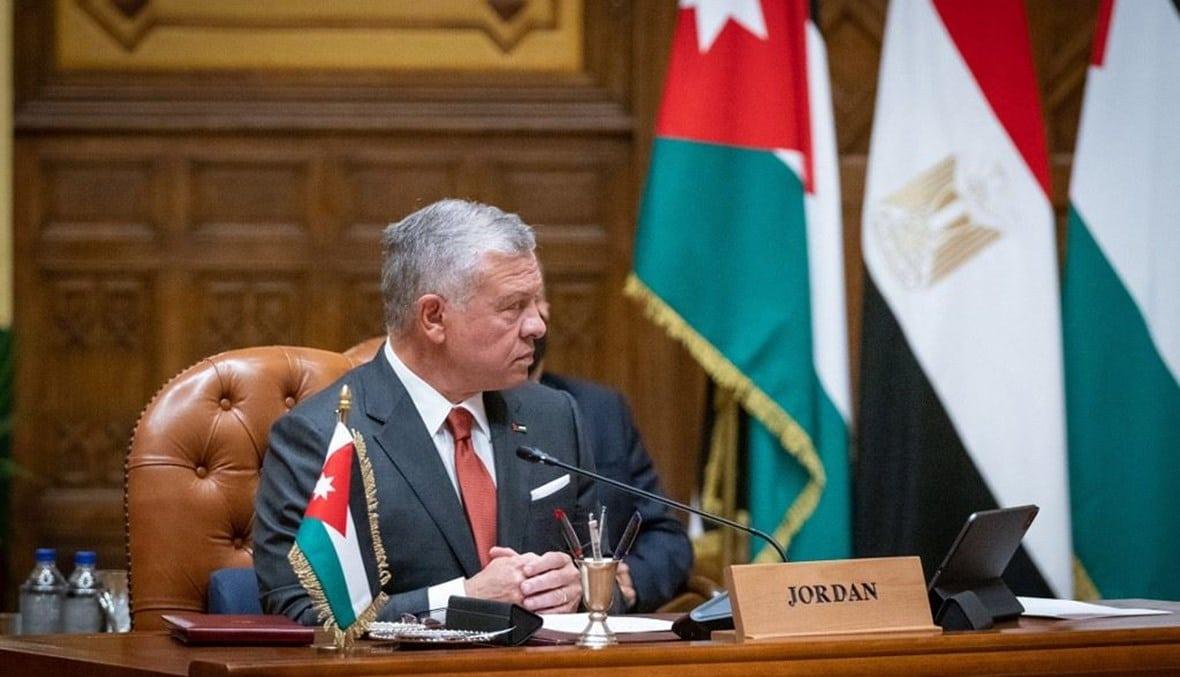 ملك الأردن عبدالله الثاني يجتمع مع الرئيس الاسرائيلي سرا