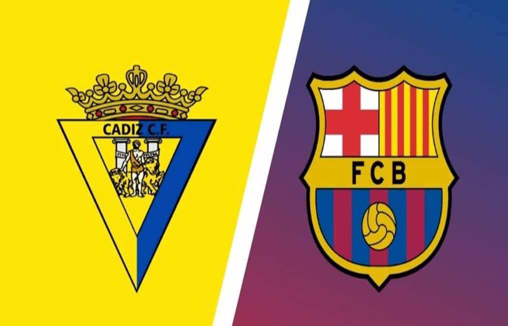 مباراة فريق برشلونة وقادش في الدوري الإسباني