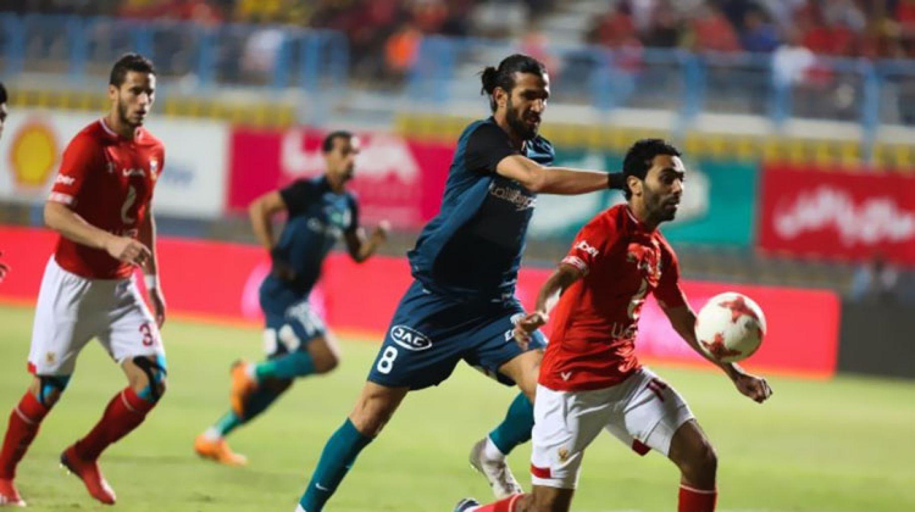 مباراة الأهلي وإنبي في منافسات كأس مصر