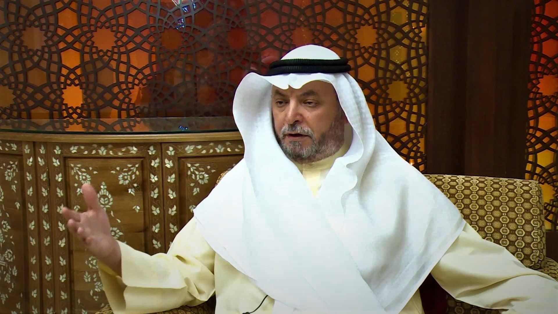 ناصر الدويلة يوجه رسالة للخليج