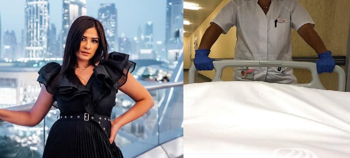 """""""شفت الموت"""" .. ياسمين عبدالعزيز تنشر أول صور لها من المستشفى بسويسرا (شاهد)"""