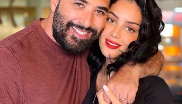 ظهور جريء لابتسام بطمة مع زوجها