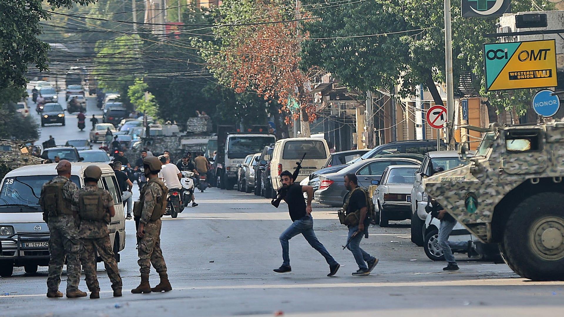 اشتباكات بيروت