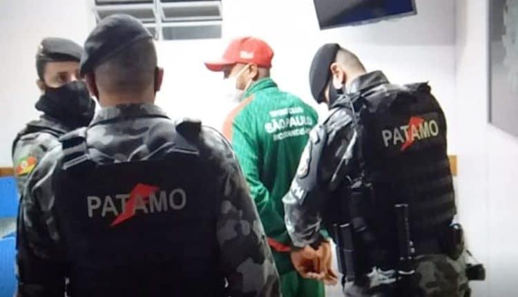 اعتقال لاعب ساو باولو ويليام ريبيرو بعد الاعتداء على حكم المباراة