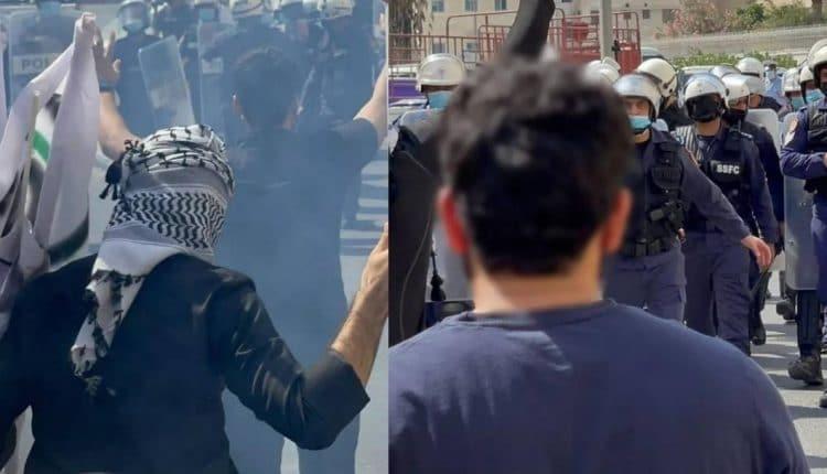 الأمن في اليحرين يقمع محتجين على افتتاح السفارة الإسرائيلية في المنامة