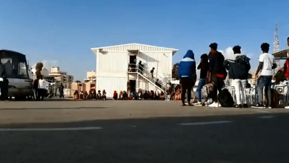 اللاجئين في ليبيا