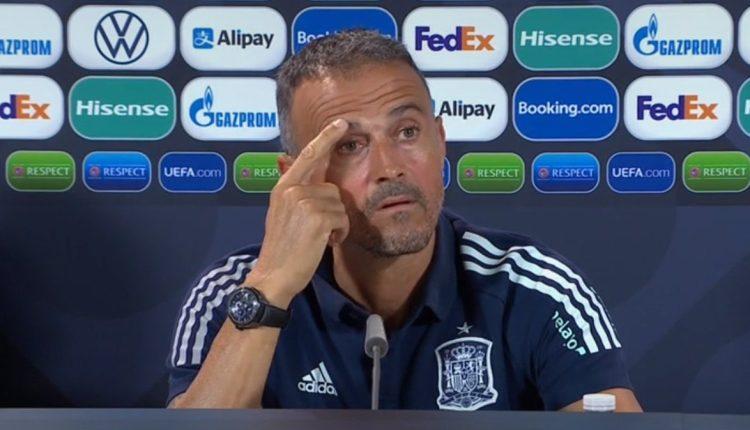 المدرب لويس إنريكي والرد على انتقادات تشكيلة منتخب إسبانيا