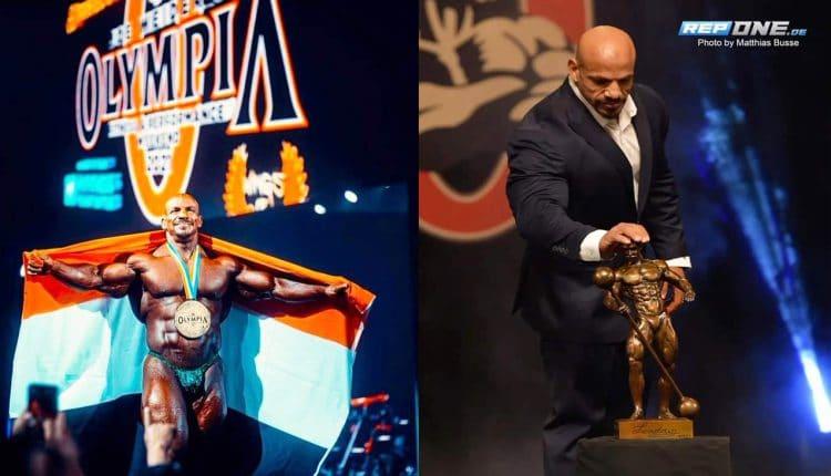 البيج رامي والتتويج بجائزة مستر أولمبيا 2021