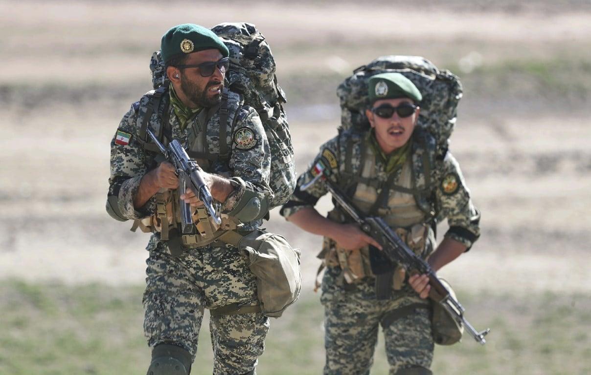 تدريبات الجيش الإيراني