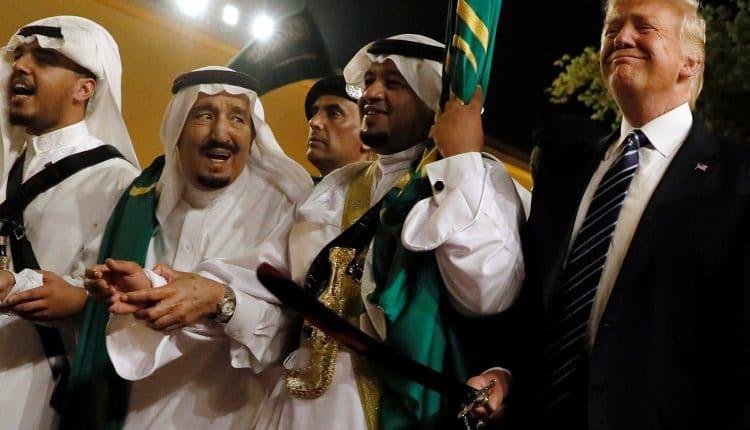 ترامب وزيارة السعودية