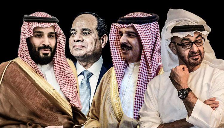 زعماء دول حصار قطر