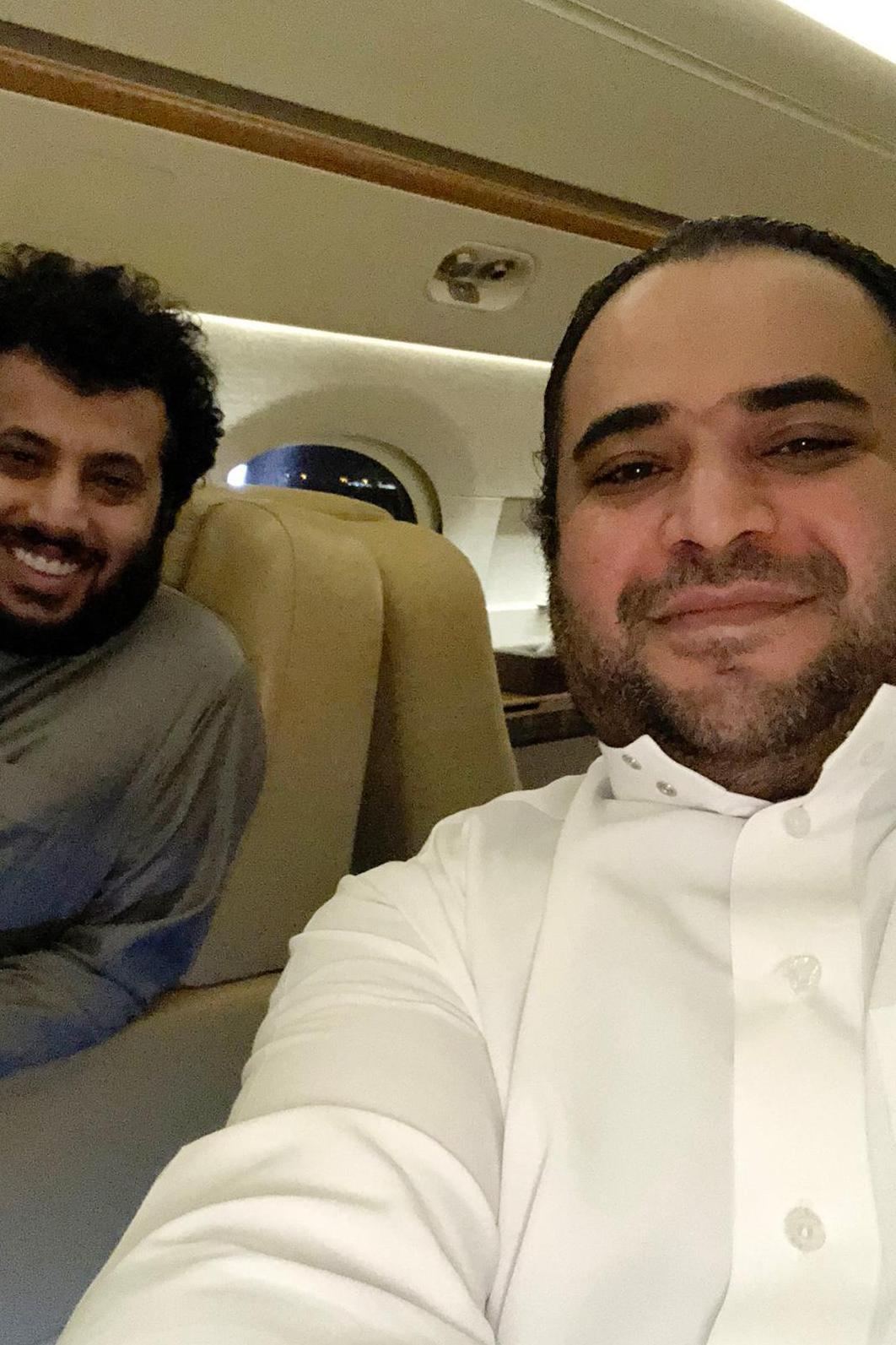 سعود القحطاني وتركي آل الشيخ