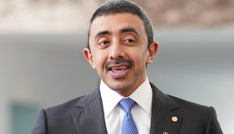 عبدالله بن زايد وزير خارجية الإمارات
