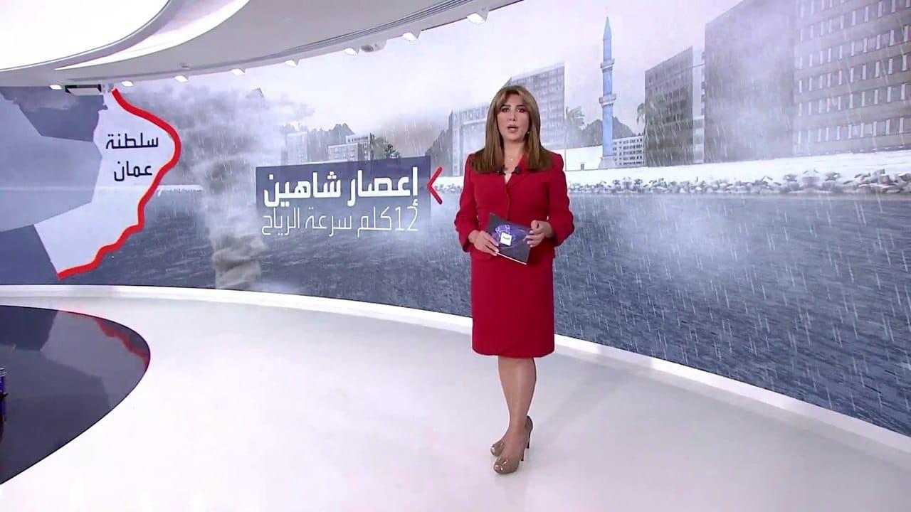 قناة العربية تثير غضب العمانيين بعد فيديو إعصار شاهين
