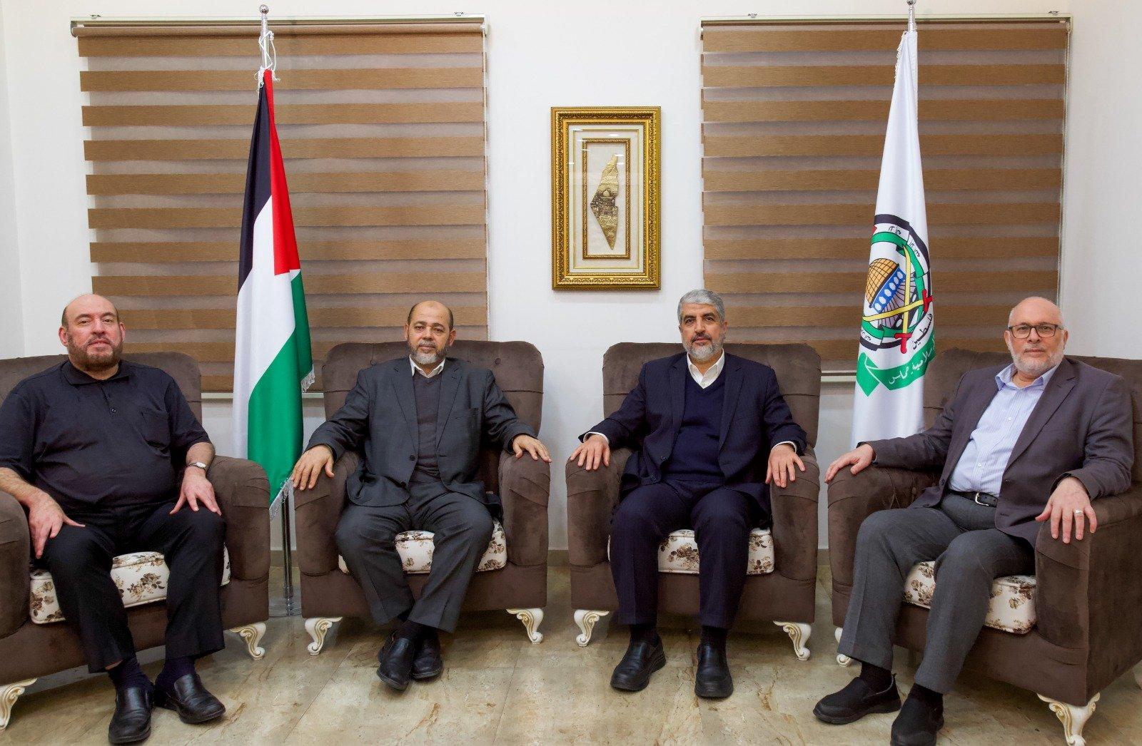 قيادة حركة حماس في القاهرة