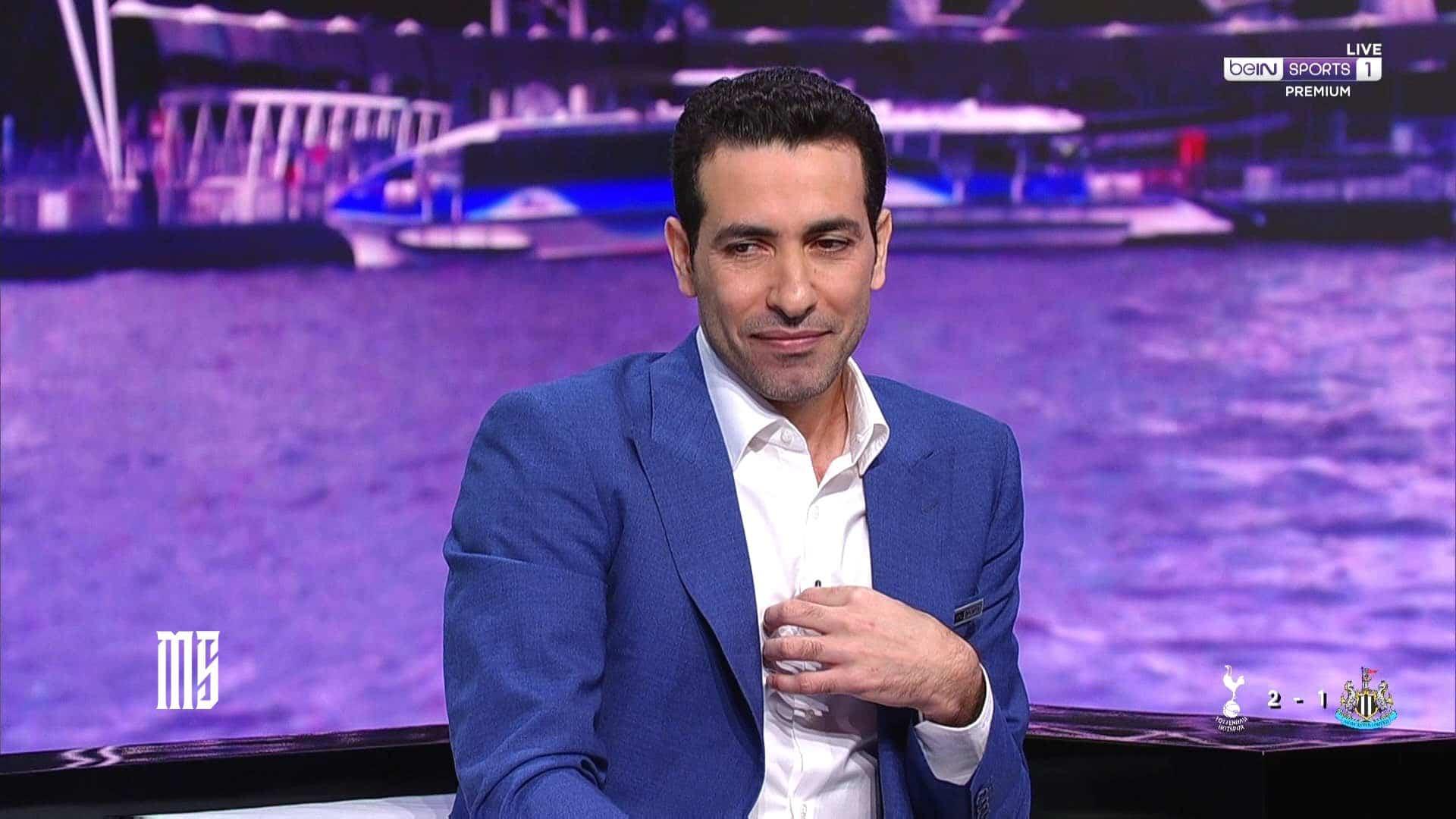 محمد ابو تريكة ينسحب من الأستوديو التحليلي لمباراة نيوكاسل يونايتد