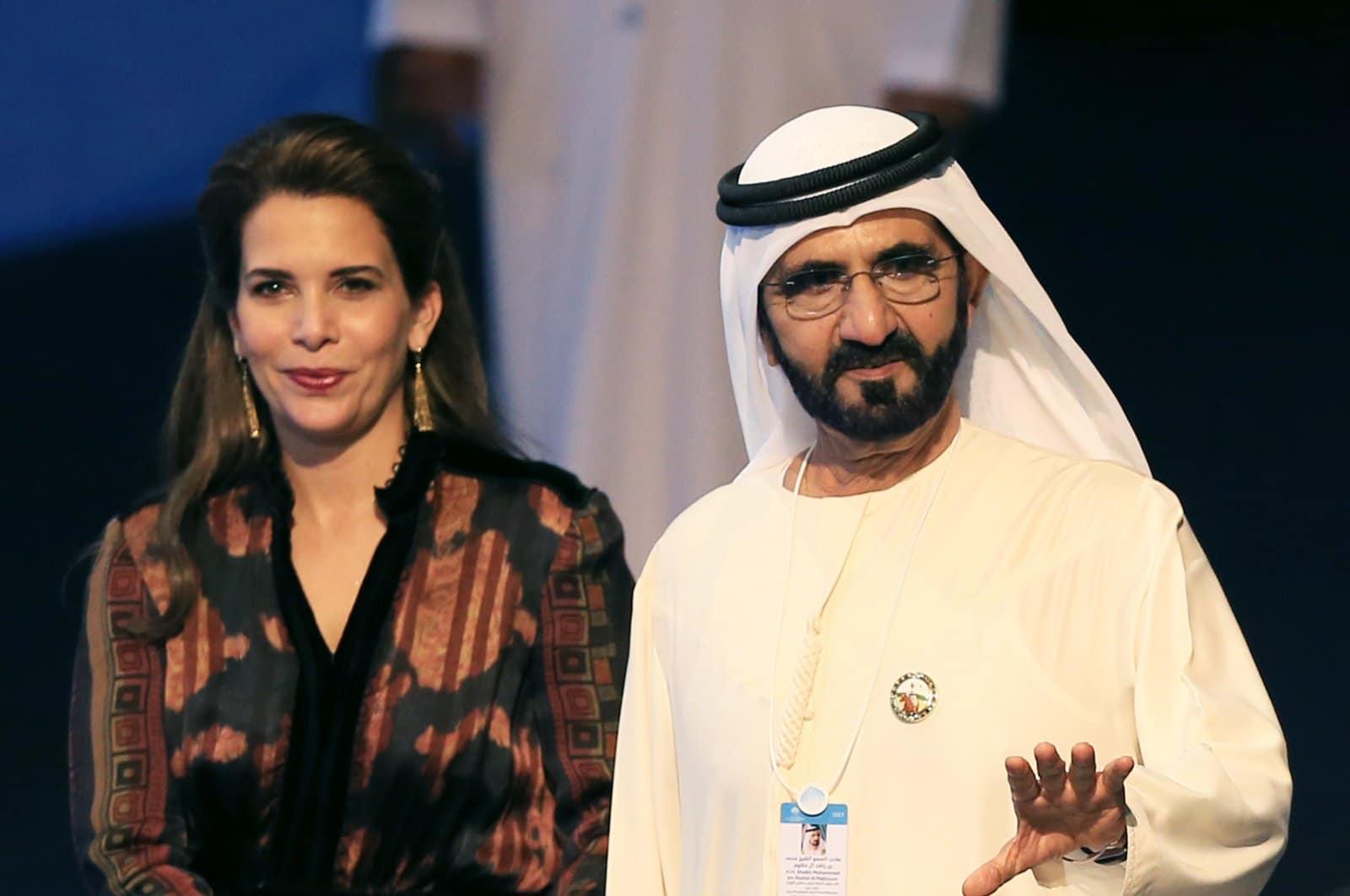 حاكم دبي محمد بن راشد أمر باختراق هواتف زوجته الأميرة الأردنية هيا الحسين ومحاميتها وفريقها الأمني