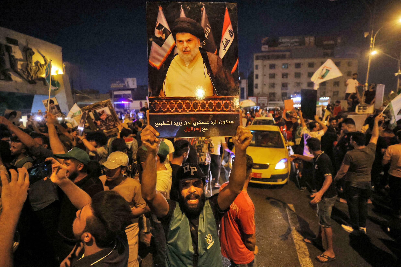 فوز تيار مقتدى الصدر في انتخابات العراق