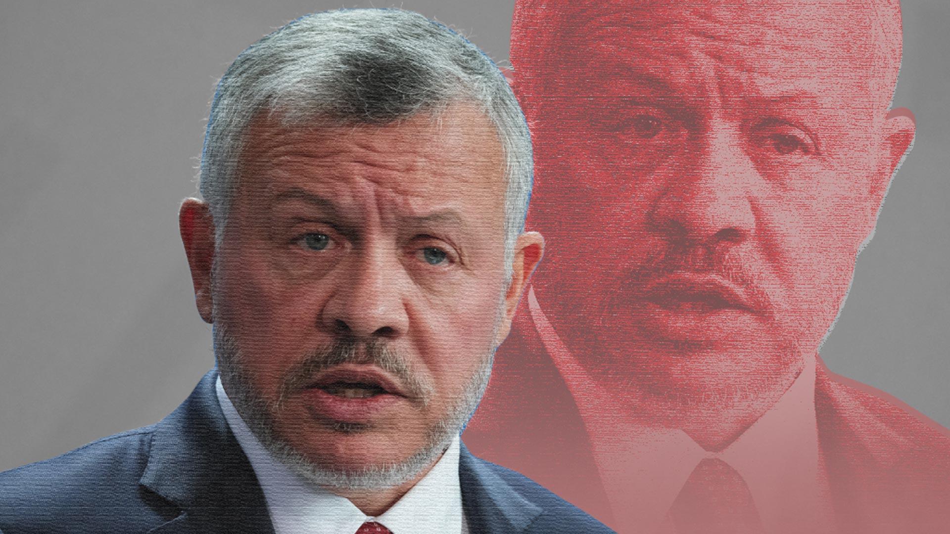 ملك الأردن عبدالله الثاني
