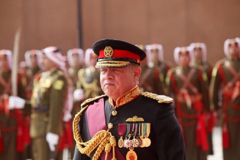 ملك الأردن