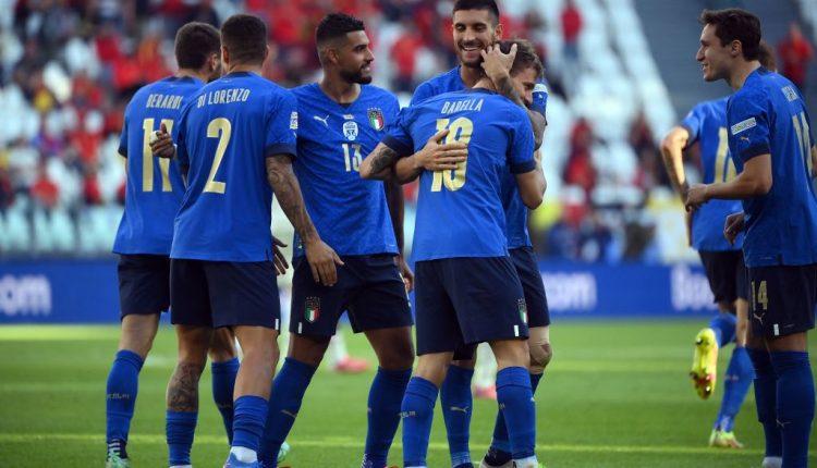 منتخب إيطاليا و حصد الميدالية البرونزية في نهائيات دوري أمم أوروبا 2021