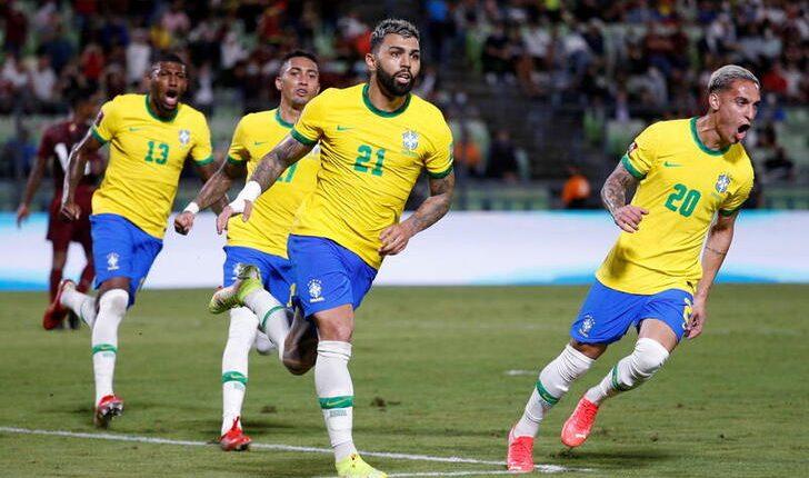 مباراة البرازيل وفنزيلا في تصفيات مونديال كأس العالم 2022