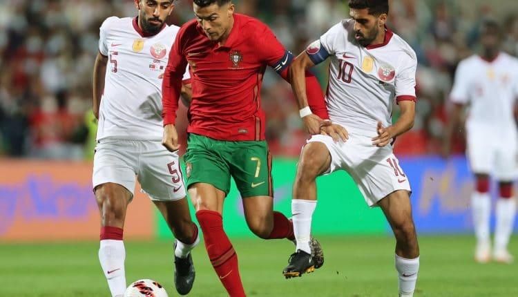 مباراة منتخب البرتغال وقطر في تصفيات كأس العالم 2022