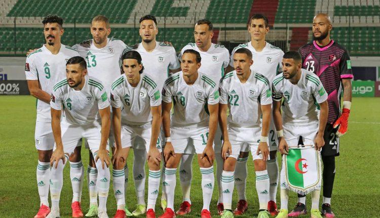 مباراة منتخب الجزائر والنيجر في تصفيات مونديال كأس العالم 2022