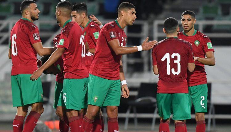 فريق منتخب المغرب في تصفيات كأس العالم 2022