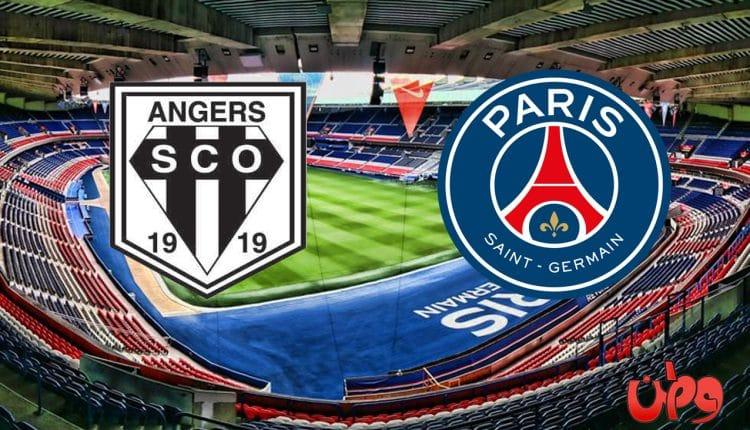 مباراة باريس سان جيرمان وأنجيه في الدوري الفرنسي