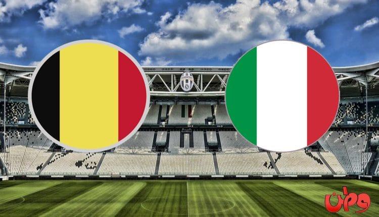 مباراة منتخب إيطاليا وبلجيكا في نهائيات دوري أمم أوروبا