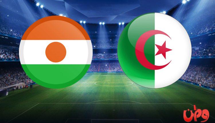مباراة منتخب الجزائر والنيجر في تصفيات كأس العالم 2022