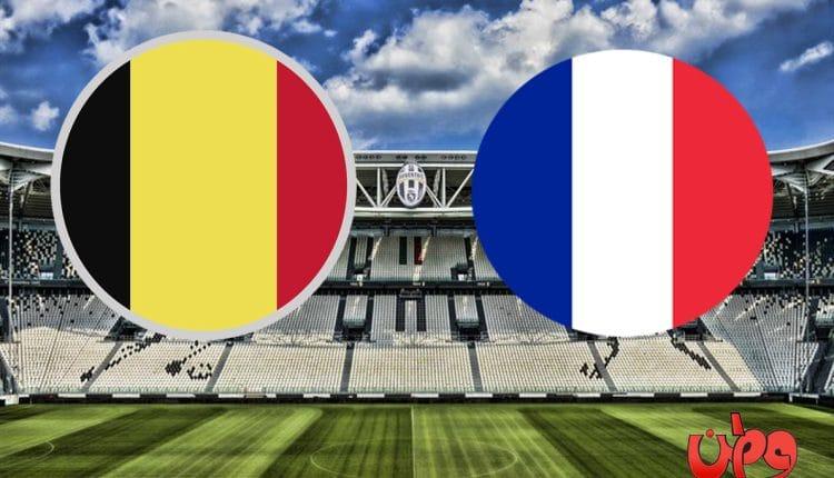 مباراة منتخب فرنسا وبلجيكا في دوري أمم أوروبا