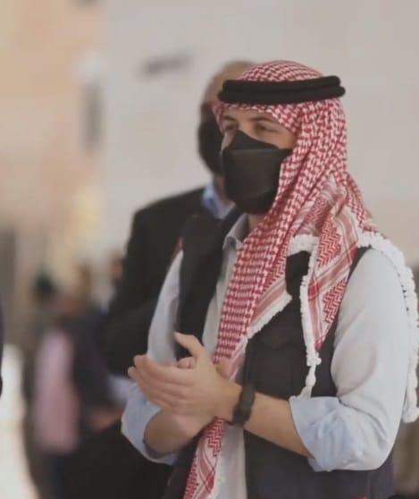 ولي العهد الأردني الأمير الحسين بن عبدالله